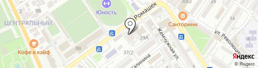 Нефрос на карте Сочи