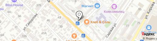 Антураж на карте Сочи