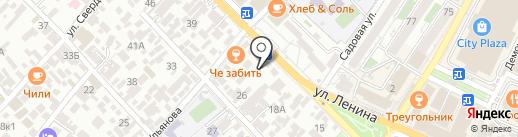 Дружба на карте Сочи