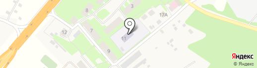 Дорожный детский сад №1 на карте Дорожного