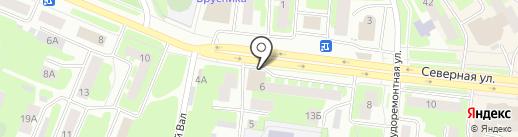 Вологодский областной наркологический диспансер №1 на карте Вологды