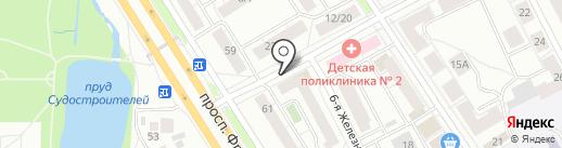 Монолог на карте Ярославля