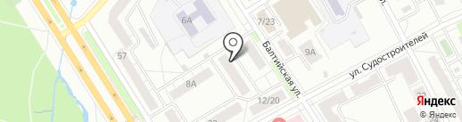 Муж на Час на карте Ярославля