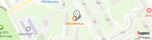 Минимаркет на карте Вологды