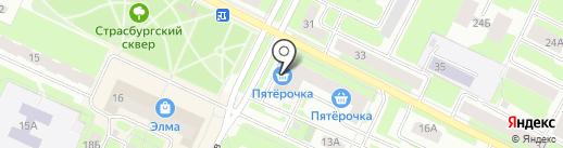 Элита-рыболов на карте Вологды