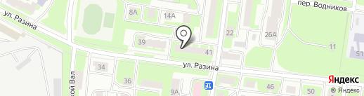 Команда добрых дел на карте Вологды