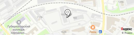Мастерская АКПП КС на карте Вологды