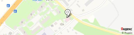 Фельдшерско-акушерский пункт на карте Дорожного