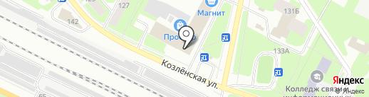 Региональная Торговая Компания на карте Вологды