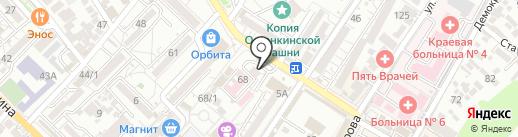Магазин нижнего белья на карте Сочи