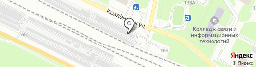 Шиномонтажная мастерская на карте Вологды