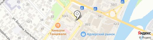 Совкомбанк, ПАО на карте Сочи