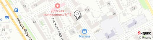 Швейное ателье на карте Ярославля