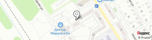Красное & Белое на карте Ярославля