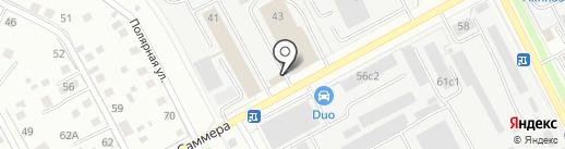 Сеть магазинов дверей на карте Вологды