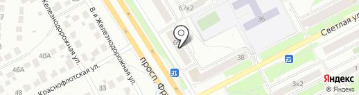 Цветторг на карте Ярославля