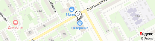 Hit на карте Вологды