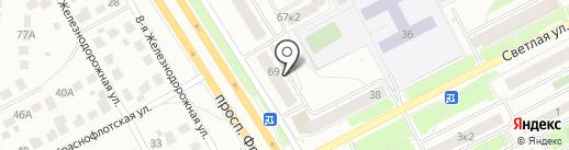 Линия защиты на карте Ярославля