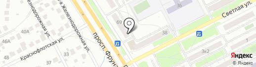Aleks на карте Ярославля