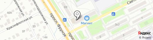 Банкомат, Райффайзенбанк на карте Ярославля
