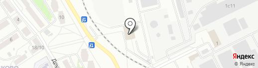 Антариус на карте Ярославля