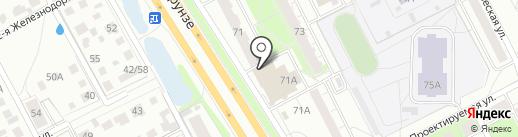 Mix на карте Ярославля