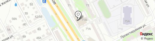 Рыбка-Рыбка на карте Ярославля
