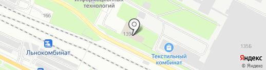 Мировые судьи Вологодской области на карте Вологды