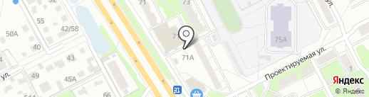 Роспечать, ЗАО на карте Ярославля