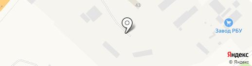 Оптовая база на карте Дорожного