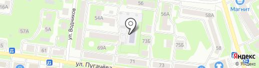 Букварёнок на карте Вологды