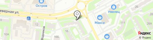 Риэлти-Сервис на карте Вологды