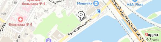 АКУЛА на карте Сочи