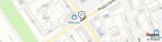Киоск по продаже печатной продукции на карте Ярославля