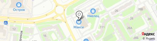 Банкомат, Газпромбанк на карте Вологды