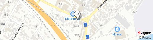 Винтаж на карте Сочи