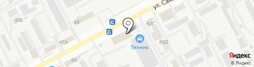 Маркер на карте Вологды