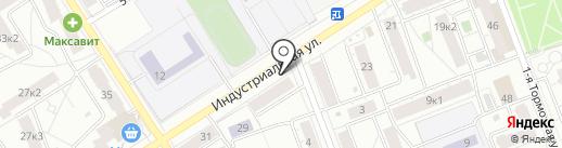 Живой хмель на карте Ярославля