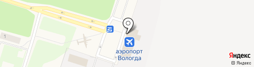 Вологда на карте Вологды