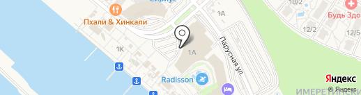 Сочимобиль на карте Сочи