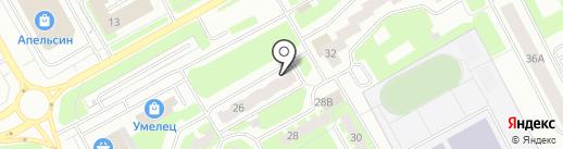 Центр по работе с населением, МКУ на карте Вологды