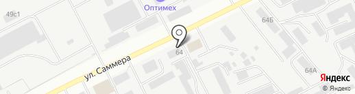 Димон на карте Вологды