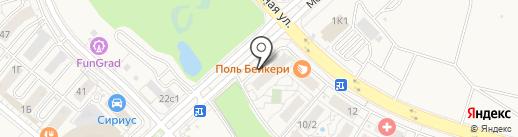 Car & Go на карте Сочи