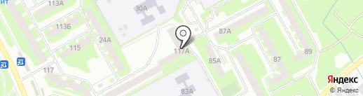 МК на карте Вологды