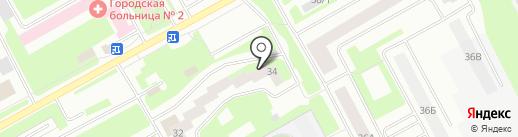 Магазин колясок на карте Вологды