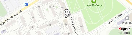Ателье по ремонту обуви на карте Ярославля