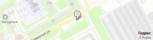 Сигнал на карте Вологды