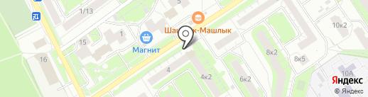Крепкие Традиции на карте Ярославля