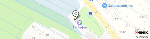 Татнефть, ПАО на карте Кузнечихи