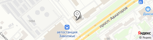 MPM на карте Ярославля